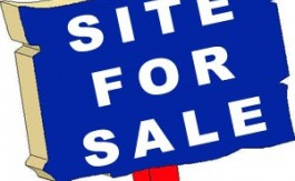 Site sign for sale